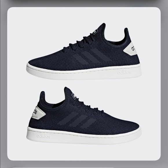 adidas Shoes | Court Adapt Navy M 7 W